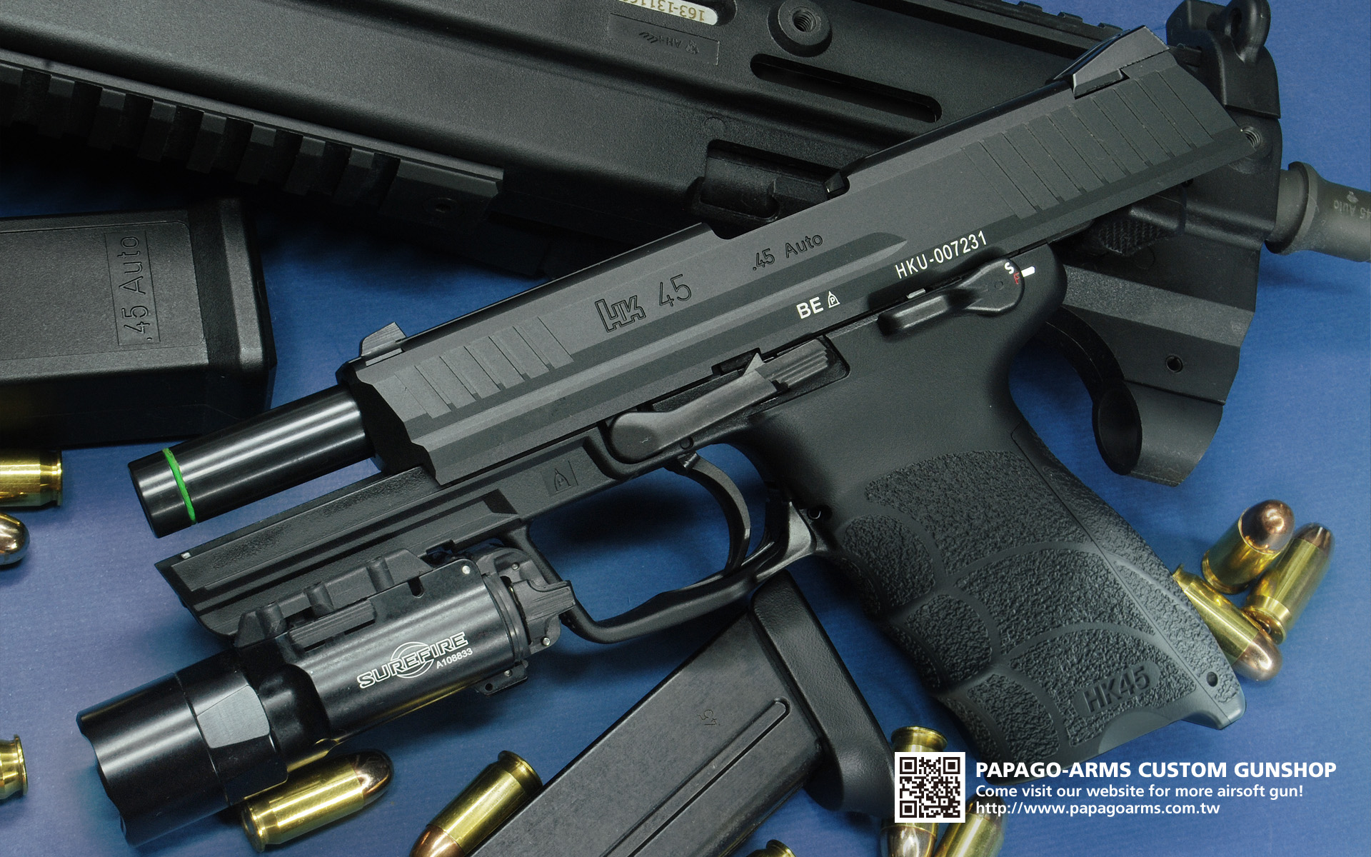 Alfa img - Showing > HK45 Wallpaper